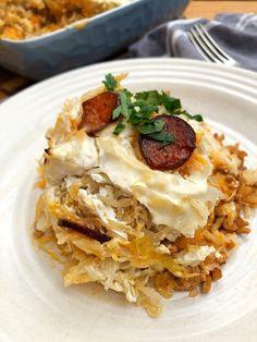 Kolozsvári rakott káposzta - GastroHobbi Hungarian Recipes, Hungarian Food, European Cuisine, Lasagna, Food Porn, Food And Drink, Menu, Dinner, Ethnic Recipes