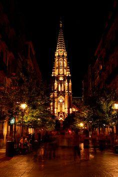 Iglesia - Church San Sebastian, Spain