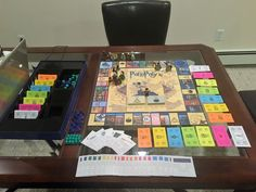 How to Make a Harry Potter Monopoly Board Game                              …