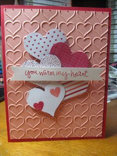 Kristin's Cards and Creations: Sweetheart Punch