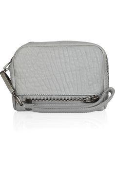Alexander Wang|Fumo pebbled-leather pouch