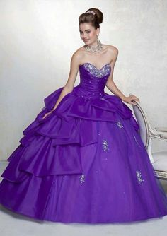 2016 Sweet 15 Year Ball Gown Quinceanera Dresses With Jacket Lace Up Cheap Fashion Purple Yellow Color vestidos 15 anos Party Purple Quinceanera Dresses, Purple Gowns, Purple Dress, Homecoming Dresses, Dress Prom, Prom Gowns, Purple Yellow, Dark Purple, Bridal Gowns