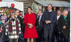 Prince William and Kate were the guests of honour at a street party on Main Street. <br><br>Photo: © PA