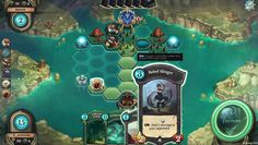 Faeria is a Free 2 Play, Strategy Multiplayer Card Game CCG, and puts a twist on the strategy card genre by combining with a living board to play on.