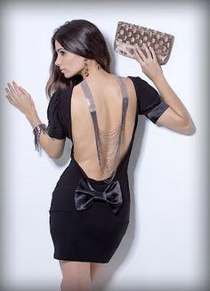 Ateliê: Inverso Fashion...Colar para as costas