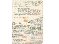 """Manoscritto di Gay Talese prima della stesura di """"Frank Sinatra ha il raffreddore"""""""