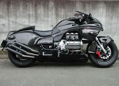 """Dragon King"" Honda Valkyrie by Whitehouse Concept Motorcycles, Honda Motorcycles, Custom Motorcycles, Custom Bikes, Cars And Motorcycles, Touring Motorcycles, Honda Bikes, Honda Valkyrie, Motorcycle News"