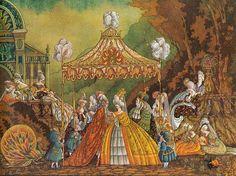 çizgili masallar: Errol Le Cain, The Twelve Dancing Princesses Fantasy World, Fantasy Art, 12 Dancing Princesses, The Art Of Storytelling, Shadow Puppets, Fairytale Art, Children's Book Illustration, Manga Illustrations, Conte