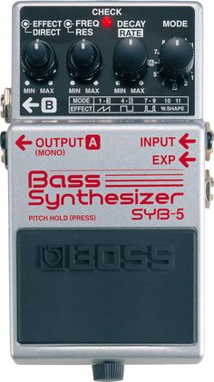 Bass Synthesizer SYB-5