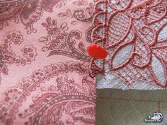 A great blog entry on how to use alignment stitches to put together a split pattern.
