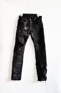 Hand made crust punk pants - Undercover by Jun Takahashi Archive - StyleZeitgeist