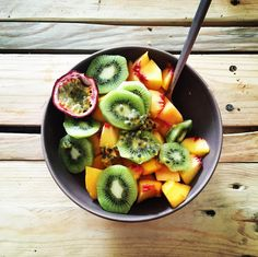 Fruit Salad, Cantaloupe, Recipes, Food, Fruit Salads, Meals, Yemek, Recipies, Eten
