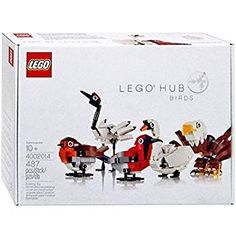 Lego Hub Birds Exclusive Set 4002014 >>> For more information, visit image link. (This is an affiliate link) Lego Office, Legos, Lego Lego, Lego Trains, Employee Gifts, Lego Group, Lego Projects, Yellow Submarine, Building Toys