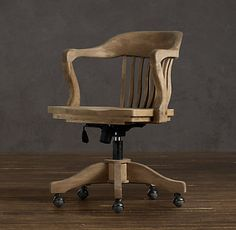 for my desk chair weathered oak drifted