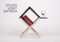 Buchtisch Table Book by Voigt Dietrich