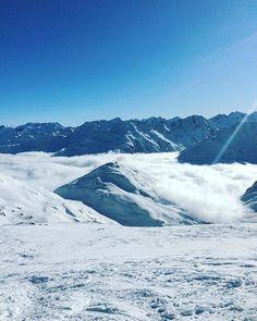 Andermatt, Switzerland, Mount Everest, Skiing, Clouds, Mountains, Landscape, Nature, Travel