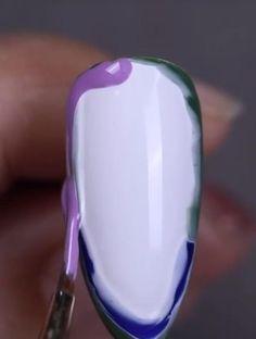 Popular Nail Designs, Nail Art Designs Videos, New Nail Designs, Nail Art Videos, Simple Nail Art Designs, Beautiful Nail Designs, Popular Nail Art, Pretty Nail Art, Cute Nail Art