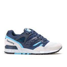 "Saucony Grid SD ""Games Collection"" Navy Grey"