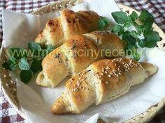 Škvarkové rohlíky Bagel, Bread, Food, Brot, Essen, Baking, Meals, Breads, Buns