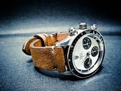 Rolex Daytona on Leather Strap #deadsoxy #staysoxy
