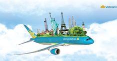 Vietnam Airlines, Banner Design Inspiration, May Bay, Ads Creative, Hanoi, Print Ads, Tours, Travel, Nasa