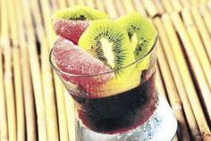 Granizado de kiwi