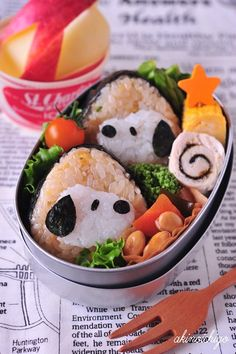 Snoopy, love it !  SUSHI?!?!?  How incredible is this?