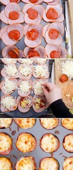 Low Carb Healthy Pizza Bites