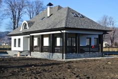 Cottage Homes, Building Plans, Traditional House, Home Fashion, Cabana, Gazebo, Outdoor Structures, House Design, House Styles