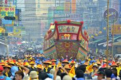 Dong-gang Boat Festival, Pingtung #Taiwan 屏東 東港迎王祭
