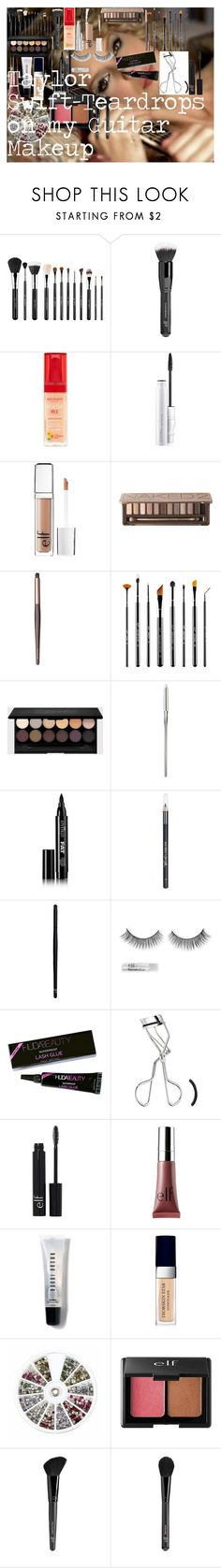 """Taylor Swift-Teardrops on my Guitar Makeup"" by oroartye-1 on Polyvore featuring beauty, Sigma, Old Navy, Bourjois, MAC Cosmetics, e.l.f., Urban Decay, Eyeko, Barry M and Charlotte Russe"