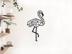 Wood Wonders Flamingo Afmeting: 50 x 30 cm Materiaal: MDF 3 mm Kleur: zwart Merk: Wood Wonders Wonders, Flamingo, Wood, Home Decor, Taxidermy, Flamingo Bird, Decoration Home, Woodwind Instrument, Room Decor
