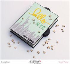 Inspirationsgalerie - Minialbum Werkstatt - Minialbum mit Einstecktaschen von Nicole Weber