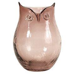 Owl Ambra Vase