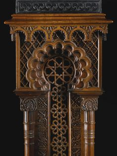 A Nasrid revival architectural maquette and stand, Spain, 19th century   lot   Sotheby's