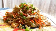 Dr. Phil 20/20 Diet Recipes - Quinoa Pilaf with Shredded Chicken