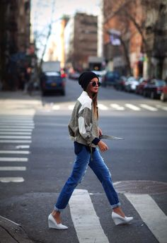 IroJacket  Current/ElliotJeans  HShoes (in stores)  TopmanBeanie (image:weworewhat)