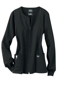 Fashion in Healthcare: Cherokee workwear core stretch scrub jacket. #HealthEdSolutions