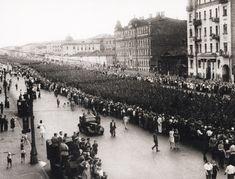 Пленные немцы 1944 Старая Москва Наума Грановского
