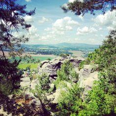 Drábské světničky ve městě Středočeský Climbing, River, Mountains, Nature, Outdoor, Outdoors, Naturaleza, Mountaineering, Outdoor Games