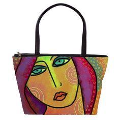 Beautiful Abstract Art Large Handbag Felt Purse, Diy Tote Bag, Textiles, Mixed Fiber, Large Handbags, Doodle Art, Mantra, Textile Art, Felting