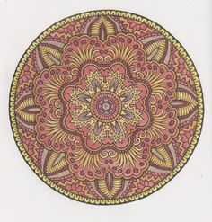 Mystical mandalas 23 done with pencils
