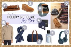Holiday Gift Guide for Him by Tamara Bellis Shiny Honey Fashion and Lifestyle Blog