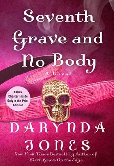 Cover Reveal: Seventh Grave and No Body (Charley Davidson #7) by Darynda Jones -On sale  October 21st 2014 by St. Martin's Press -Twelve. Twelve of the deadliest beasts ever forged in the fires of hell have escaped onto our plane, and they want nothing more than to rip out the jugular of Charley Davidson and serve her lifeless, mangled body to Satan for dinner. So there's that. But Charley has more on her plate than a mob of testy hellhounds.