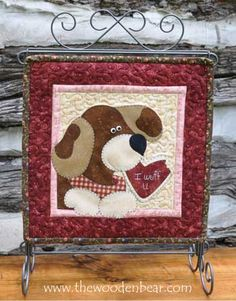 """February- Little Quilts Squared Again! patterns by The Wooden Bear! These are 12"""" x 12"""" and work great on our 12x14 tabletop stands.  Mix and match with our original 12 Little Quilts Squared patterns!"""