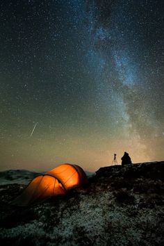 Need to go on a stargazing camping trip! ...Photo by Tommy Eliassen, see also http://500px.com/tommyeliassen