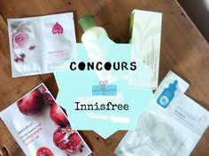 Concours sur le blog, un lot Innisfree est à gagner !!
