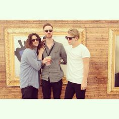 Tom Odell and the boys giving the brand some respect at the Isle Of Wight Festival #eyerespect #LDNR  #sunglasses #fashion #brand  #fashionbloggers #summer #isleofwightfestival #tomodell #band