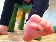 Marble Play (with your toes) -  Pinned by @PediaStaff – Please Visit http://ht.ly/63sNt for all our pediatric therapy pins