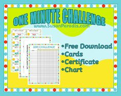 One Minute Challenge-I am totally going to use this this year! In her blog post she mentions it takes her kids several years to be able to name all the notes of the grand staff within a minute! LPM kids do it within 9 months!!! Wow!